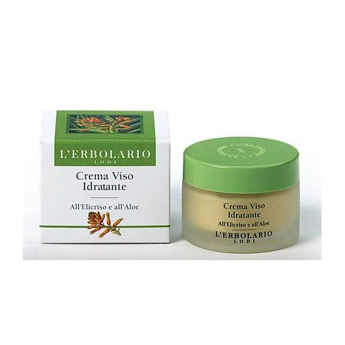 Erbolario - Crema Viso Idratante all'Elicriso e all'Aloe (ml.50)