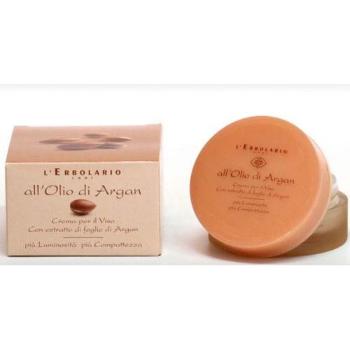 Erbolario - Crema Viso all'Olio di Argan (ml.50)