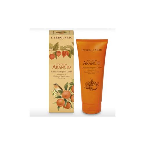 Erbolario - Crema Fluida Corpo - Accordo Arancio (ml.200)