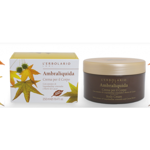 Erbolario - Crema Corpo - Ambraliquida (ml.250)