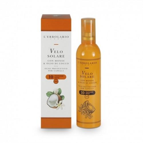 Erbolario - Velo Solare con Manoi e Olio di Cocco - SPF 10 (ml.100)