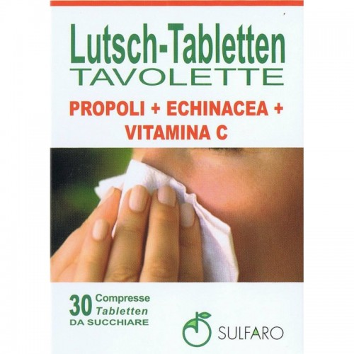Sulfaro - Propoli+Echinacea+Vitamina C Tavolette (30 tav)
