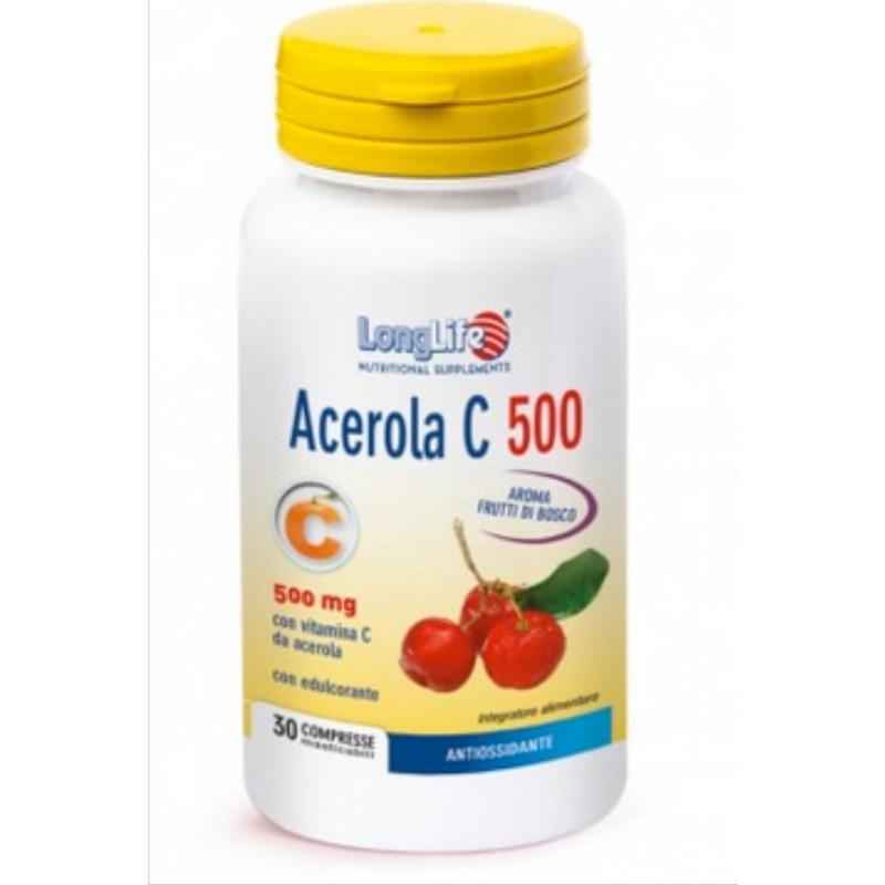 Long Life - Acerola C 500 (tav.30)