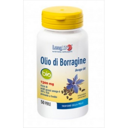Long Life - Olio di Borragine 1300mg (50 perle)