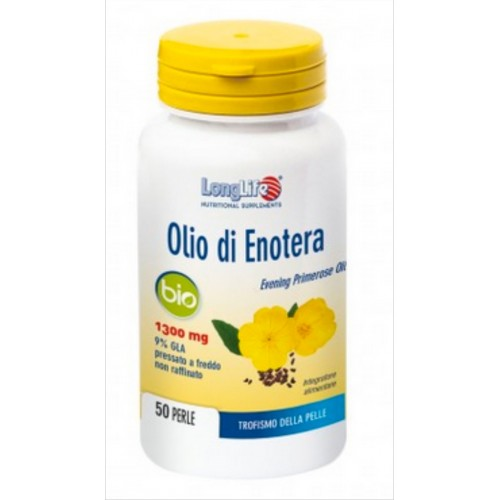 Long Life - Olio di Enotera BIO mg.1300 (50 perle)