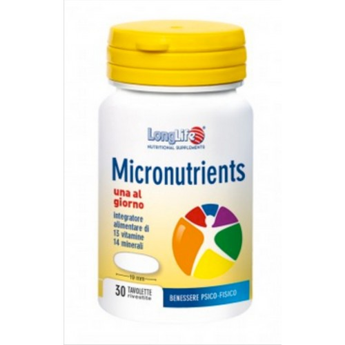 Long Life - Micronutrients (tav.30)
