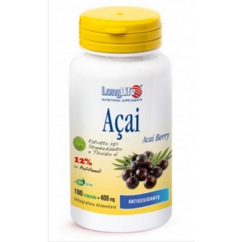 Long Life - Acai 400 mg. (cps.100)
