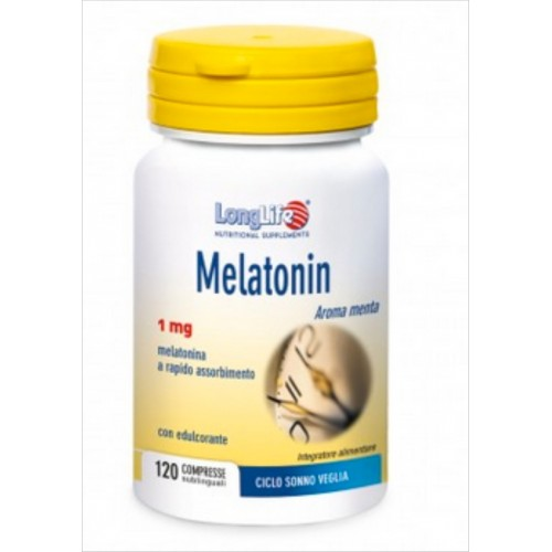 Long Life - Melatonin 1 mg. (120 cp)