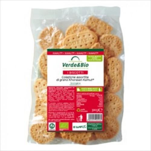 Verde & Bio - Biscotti Colazione Assortita di Grano Khorasan Kamut (gr.300)