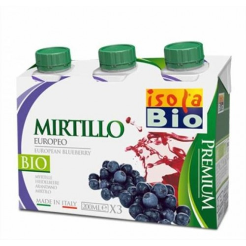 Isola Bio - Premium Mirtillo (200 ml.x3)
