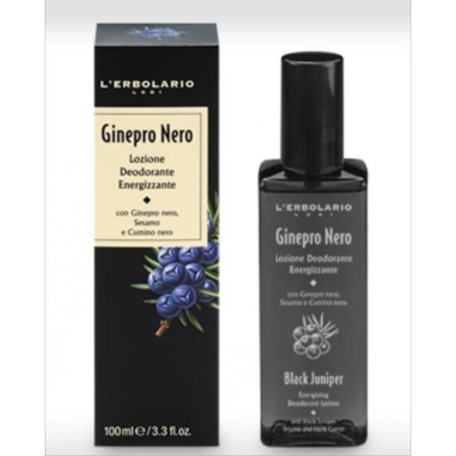 Ginepro Nero - Lozione Deodorante Energizzante (ml.100)