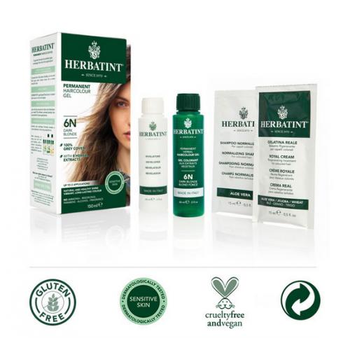 Antica Erboristeria - Tinta per capelli Herbatint - 6N Biondo Scuro