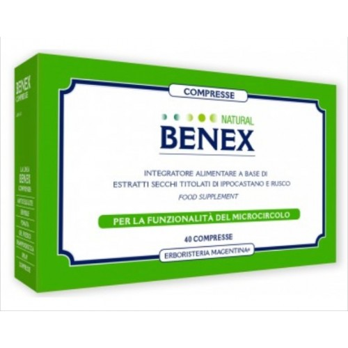 Erboristeria Magentina - Compresse Natural Benex (cpr.40)
