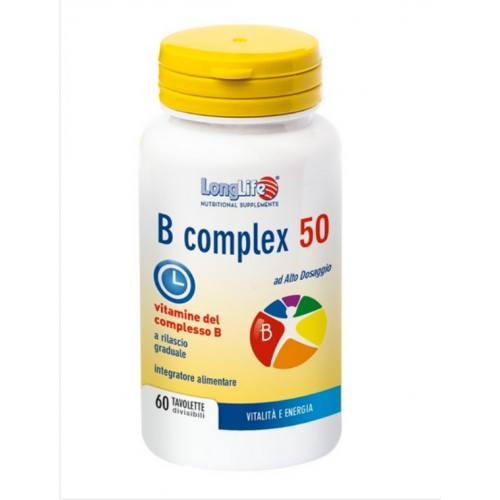 Long Life - B Complex 50 t/r (tav.60)