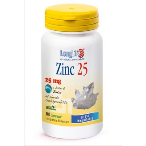 Long Life - Zinc 25 (cps.100)