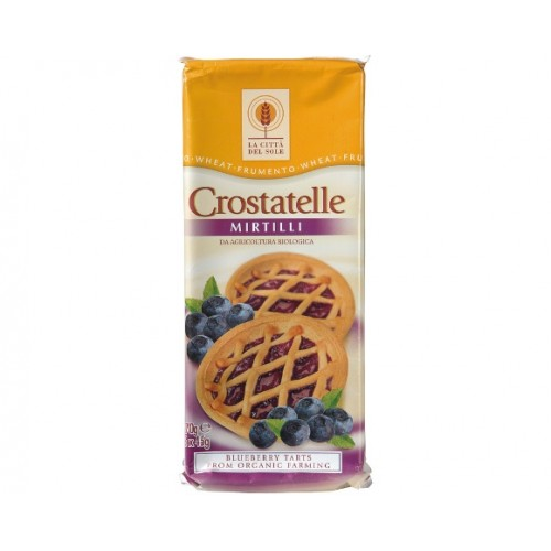 La Città del Sole - Crostatelle di Farro ai mirtilli