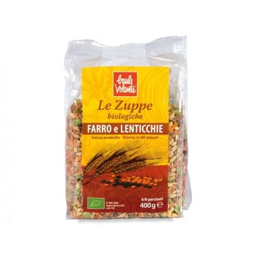 Baule Volante - Zuppa di Farro e Lenticchie (gr.400)