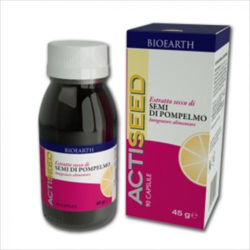 Bioearth - Estratto Secco di Semi di Pompelmo Actiseed (cps.40)
