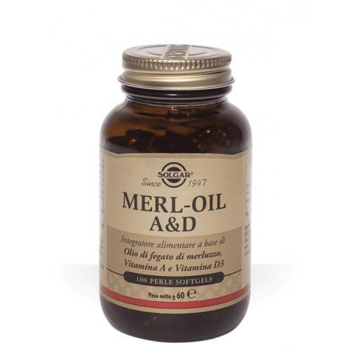 Solgar - Merl Oil A&D (100 perle)