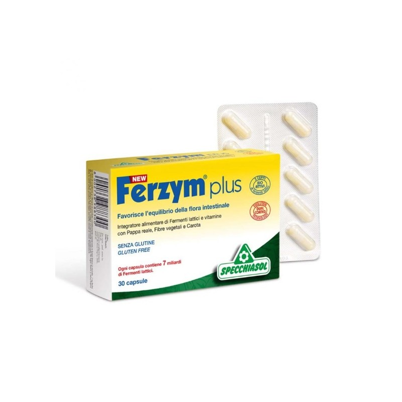 Specchiasol - New Ferzym Plus (cps.30)