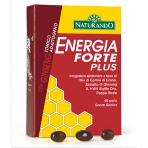 Naturando - Energia Forte Plus (40 perle)