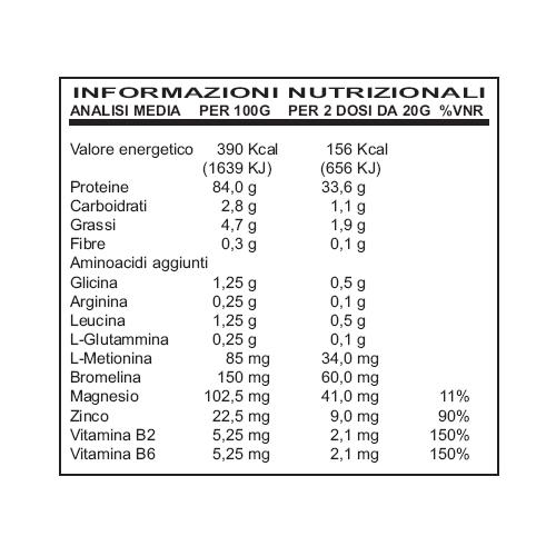 Ultimate Italia - Krono Protein 95 - Crema Vaniglia (gr.2100)