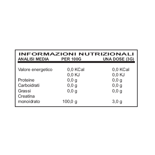 Ultimate Italia - Creatine Powder (gr.300)