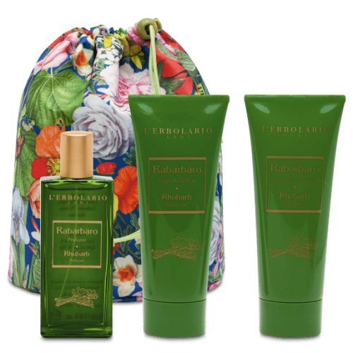 Erbolario - Beauty Bag Trio Rabarbaro