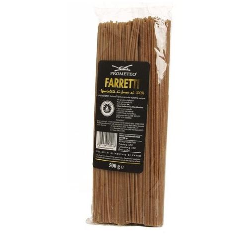 Prometeo - Spaghetti Integrali di Farro dicocco Le Farrette (gr.500)