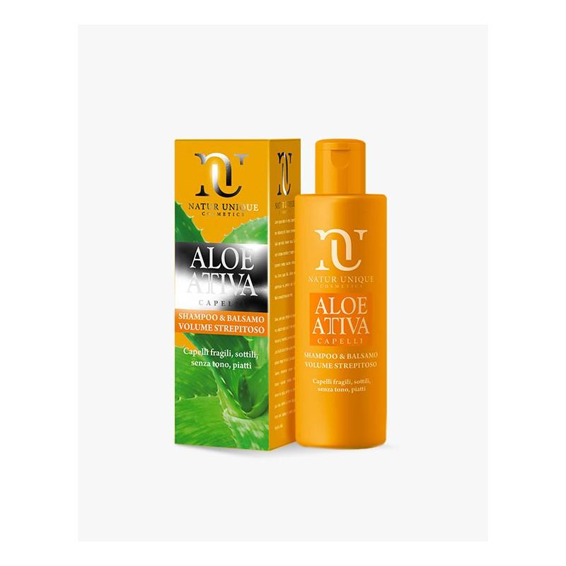 Natur Unique - Shampoo & Balsamo Volume Strepitoso (ml.250)