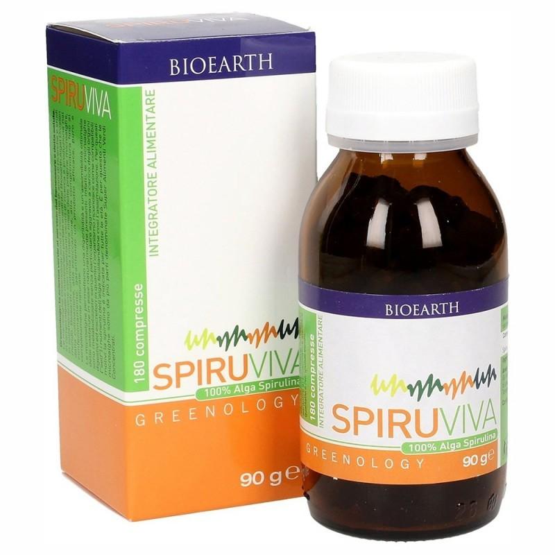Bioearth - Spiruviva Greenology (180 cps.)