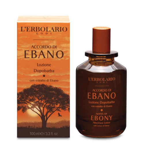 Erbolario - Accordi di Ebano - Lozione Dopobarba ml.100