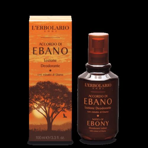 Erbolario - Accordi di Ebano - Deodorante ml.100