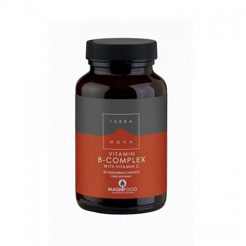 Terranova - Complesso di Vitamina B con Vit.C (50 capsule)
