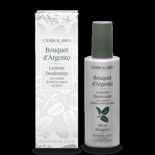 Erbolario - Bouquet d'Argento - Lozione deodorante (ml.100)