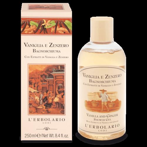 Erbolario - Vaniglia & Zenzero - Bagnosciuma (ml.250)