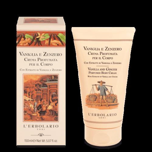Erbolario - Vaniglia & Zenzero - Crema Corpo (ml.150)