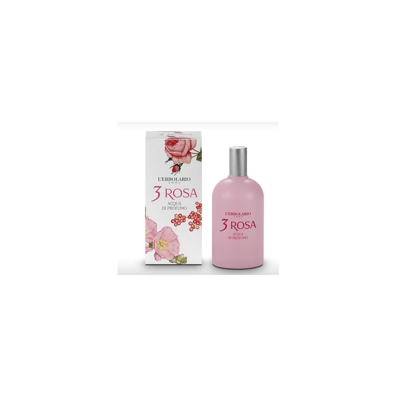 Erbolario - Acqua di Profumo - 3 Rosa (ml.50)