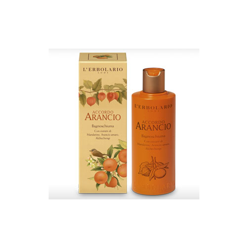 Erbolario - Bagnoschiuma - Accordo Arancio (ml.250)