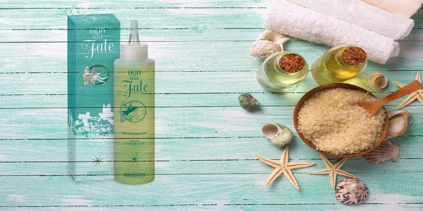 Olio è stato crato per il massaggio e automassaggio del corpo femminile.